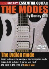 LICK LIBRARY The LYDIAN MODES Learn to Play Steve Vai Scale Patterns GUITAR DVD