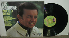 VIC DAMONE Don't Let Me Go, original United Talent vinyl LP, 1969, VG+/VG