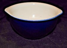 F 8 Brand Cobalt Blue sugar bowl 2 3/4 in tall and about 5 in dia at rim