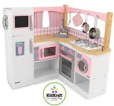 NEW KidKraft Grand Gourmet Deluxe Corner Kitchen Kids Pretend Play Set