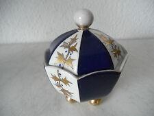 Art Deco Porzellan Deckeldose / Bonbonniere Matthes & Ebel Mäbendorf (B736)xx