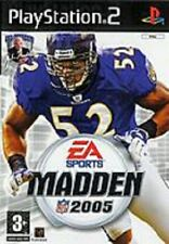 MADDEN NFL 2005            -----   pour PS2