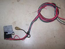 ORIGINAL GM IGNITION STARTER RELAY WITH WIRE HARNESS CONNECTOR REPAIR PIGTAIL
