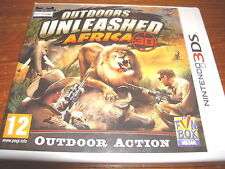 OUTDOORS UNLEASHED AFRICA 3D ** NEW & SEALED ** Nintendo 3Ds Game