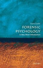 Forensic Psychology: A Very Short Introduction, Canter, David, Good Book