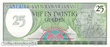 Suriname 25 Gulden 1985 Unc pn 127b