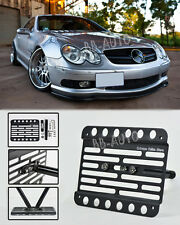 03-09 Benz W209 CLK55 AMG CLK 63 AMG No PDC Front Tow Hook License Plate Bracket
