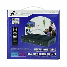 Mediasonic HomeWorx HDTV Digital Converter Box Media Player Record NEW VERSION