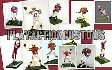 Choice of 1 Arizona Cardinals Custom  Figure made w/ Mcfarlane NFL St Louis