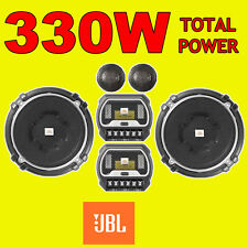 JBL 2-WAY 5.25 INCH 13cm CAR 2WAY COMPONENT TWEETERS SPEAKERS 330W TOTAL POWER
