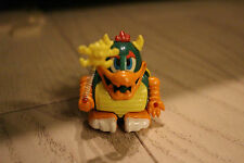 Super mario Bowser figure doll 1986 vintage rare Pull back car