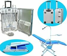 Dental Portable Turbine Unit Scaler Curing Light And New Dental Portable Chair