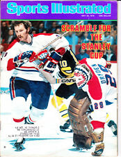 1978 Sports Illustrated Larry Robinson, Ken Dryden Montreal Canadiens