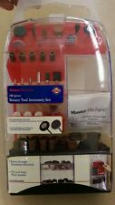 Master Mechanic 160 Piece Rotary Tool Accessory Set