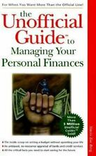 The Unofficial Guide to Managing Your Personal Finances Berg, Stacie Zoe Paperb