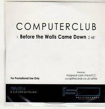 (EP357) Computer Club, Before The Walls Came Down - 2008 DJ CD