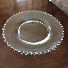 Candlewick Clear Glass Dinner Plate