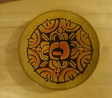 BEAUTIFUL VINTAGE 1970s LARGE POOLE POTTERY AEGEAN CHARGER DISH BOWL PLATE 26 cm