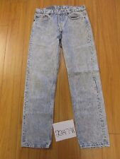 used Levi's 501 feather grunge USA repairs jean tag 33x32 meas 30x30 22479F