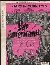 Stars in Your Eyes (Pan Americana) Spanish and English Lyrics , Orchestration