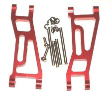 LOSI MINI-T LATE-MODEL GPM FRONT A-ARMS RED ALUMINUM SMT055
