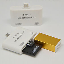 The New Triple-speed USB2.0 OTG Phone Card Reader Universal Card Reader