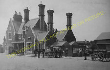 Axminster Railway Station Photo. Chard - Seaton Jct. Yeovil to Honiton Line. (9)