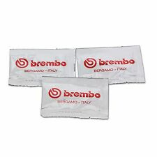 3x Genuine Brembo Brake Caliper Lubricating Grease Sachets, High Temp Silicone