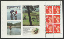 (SC4) GB QEII Stamps. The Scots Connection Prestige Booklet Pane ex DX10 1989
