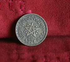 1952 Morocco 10 Francs World Coin Y49 Maroc Star AH1371 Africa