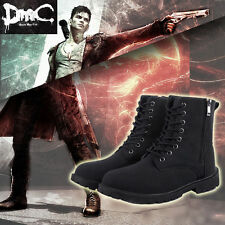 DMC 5 Devil May Cry Dante cosplay Boots Shoes custom made any sizes