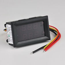 Dual LED Display Digital Panel Meter Green Red Voltage Current Meter 0-33V DC10A