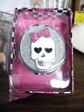 Betsey Johnson silvertone skull mirrow