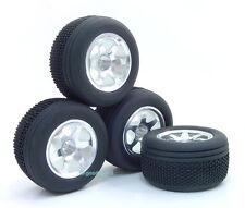 Alloy 6 Spoke Rim Wheel+Tire Fit RC18T RC18B RC18MT New