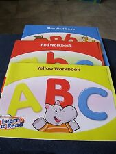 Hooked on Phonics Learn to Read WORKBOOKS with Progress posters