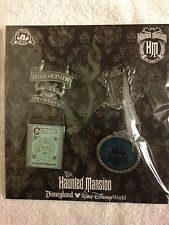 Disney Pins Haunted Mansion Booster Set