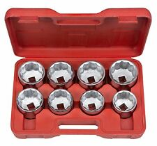 TEKTON 3/4 Drive Jumbo Socket Set (2-1/16-2-1/2) CS 1110 Tool Set NEW