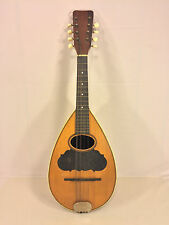 Antique 8 String Bowlback Mandolin Lion Brand No Case