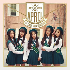 APRIL - [BOING BOING] 1st Single Album CD+Photo Booklet+Photo Card K-POP Sealed