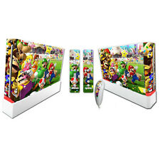 A05* Brand New Skin Decal Wrap Console & Controller Sticker For Nintendo Wii