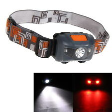 1200LM Mini Super Bright Headlight R3 + 2 LED 4 Mode Headlamp Head Torch Lamp