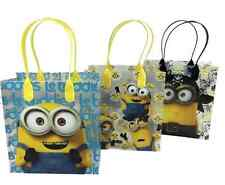 12 bags MINIONS Party Favor Goody gift Candy bags birthday mickey minnie