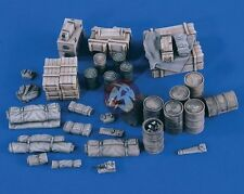 Verlinden 1/48 GMC CCKW 2.5 Ton Truck Cargo Load Set WWII [Resin Accessory] 2380