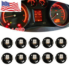 Red T4/T4.2 Neo Wedge LED Bulb Cluster Instrument Dash Climate Base Lights  HS