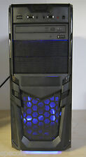 Fast gaming pc intel core 2 quad 8 go de ram 1TB hdd 2GB gddr 5 carte graphique win 7 z