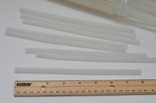 "24 pcs Hot Melt SILICONE Glue Sticks 0.27"" x 8"" Clear White for craft"