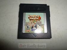 NEW BATTERY! Harvest Moon 2 CART ONLY - Nintendo Gameboy 21hrw