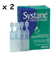 SYSTANE LUBRICATING EYE DROPS  x 56 vials   Alcon FREEPOST