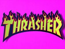 Thrasher Magazine Skateboard Sticker Flame Logo Decal Mag Skate Goat KOTR New