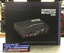AUDIOCONTROL THE EPICENTER 600 MONO CAR AMPLIFIER W / BUILT-IN BASS PROCESSOR